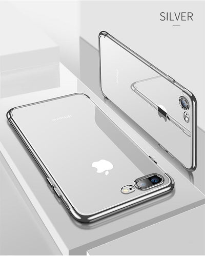 Transparent Reflex Case for iPhone 6 6S and 6S Plus