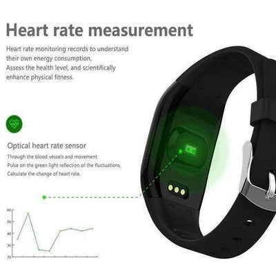 Wrist Blood Pressure Smart Watch Monitor - Digital and Portable