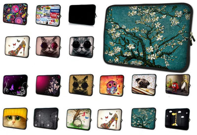 Printed Laptop Sleeve - Colorful Notebook Sleeve