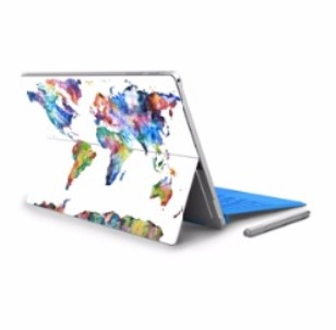 Full Back Decal Sticker Skin Microsoft Surface Pro 4 Tablet