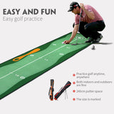 Kindergolf mat | Leer je kind golfen als een pro! | Indoor Golf Mat | Indoor Golf Baan (300*50cm)