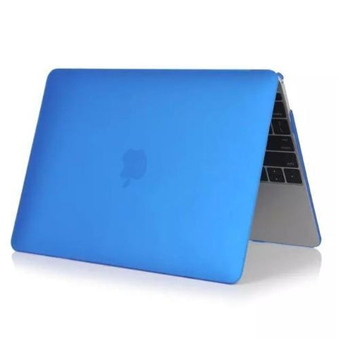 The Matte Jacket – Macbook Case blauw