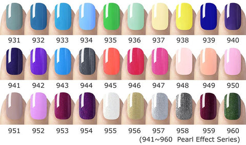 Gel Nagellak | Primer | Base | Color | Top