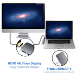 7-in-1 USB Type-C Hub / Docking Station voor Macbook Pro