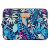 The Colorful Exotic – Laptop Sleeve blauw