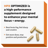 HPX OPTIMIZED: Your Brain-Health and Mental Focus Supplement.