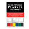 The High Performance Planner - Full Year Pack