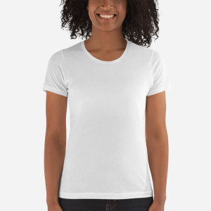 3900 Ladies' The Boyfriend Tee with Tear Away Label