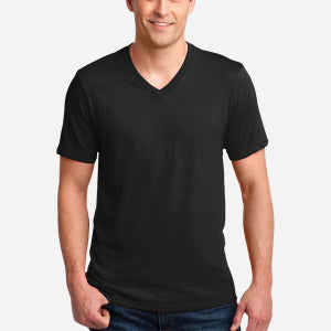 982 Lightweight Fashion V-Neck T-Shirt with Tear Away Label