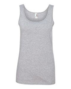 882L Ladies Missy Fit Ringspun Tank Top with Tear Away Label