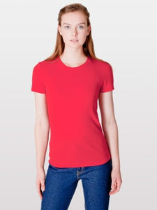 2102 Fine Jersey Short Sleeve Women T-Shirt