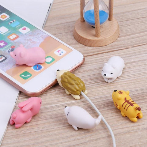 Cute Animal USB Wire Protector
