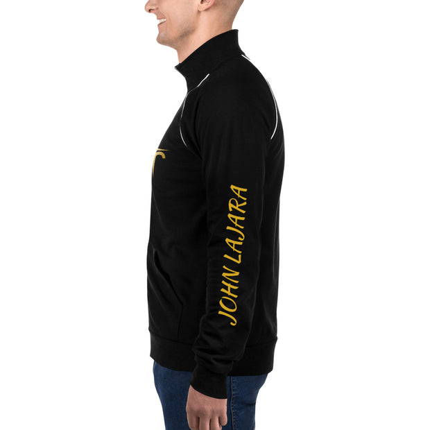 John Lajara Piped Fleece Jacket