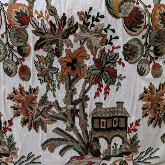 Schumacher Hand Embroidered in India