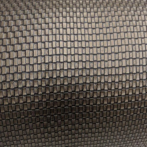 Dark Bronze Weave Square Vinyl