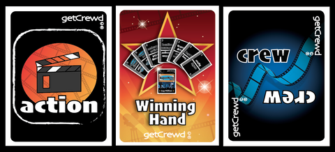 getCrewd Party Card Game Action and Crew Card Decks - 7 cards win if you get the right crew