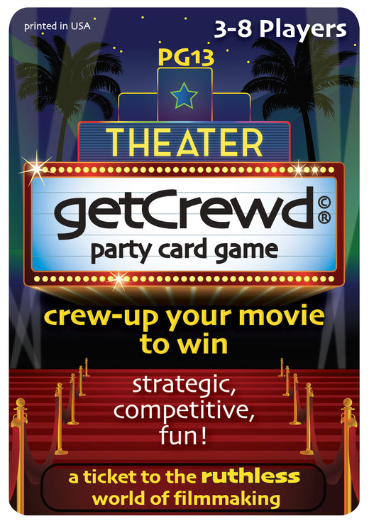 getCrewd Party Card Game