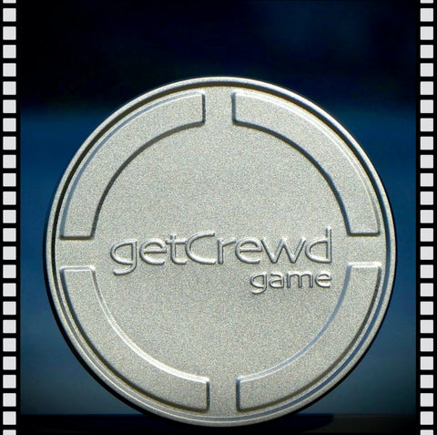 getCrewd party card game is your backstage pass  to the movie biz. Lights, camera, cards !  Packaged in retro Hollywood filmcan