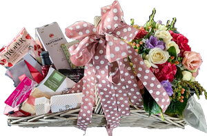 Beautiful tailor made hampers