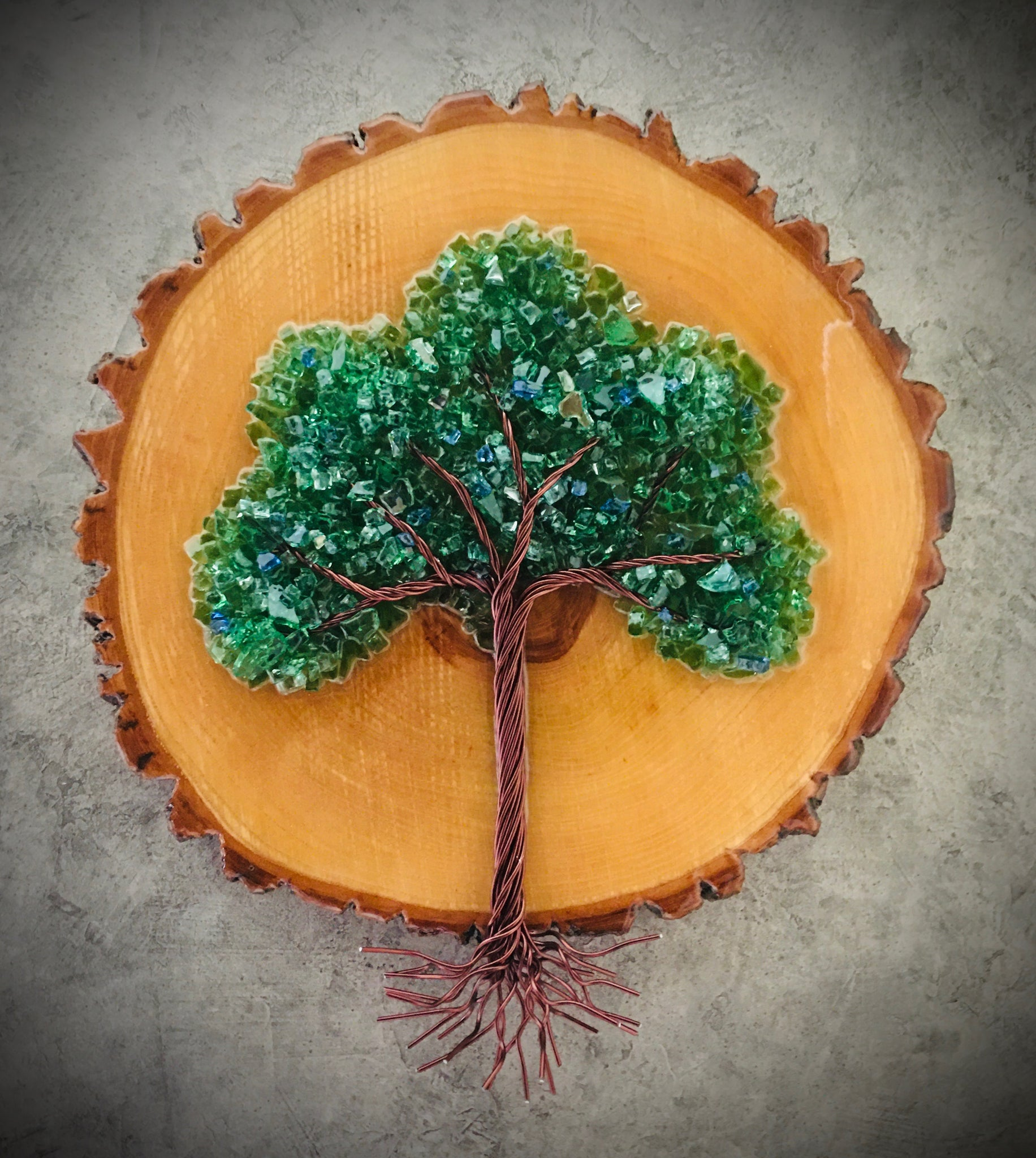 Medium Wood Cookie Tree of Life