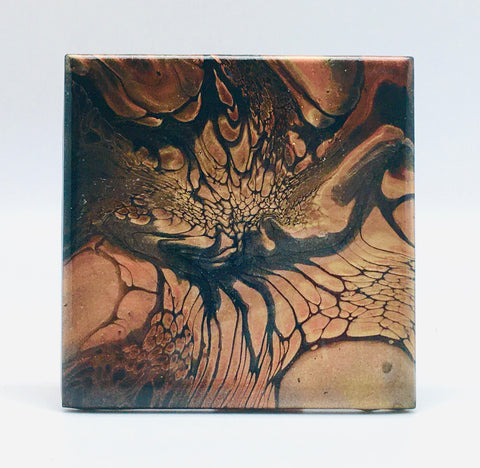 Ceramic Coaster Set Bronze