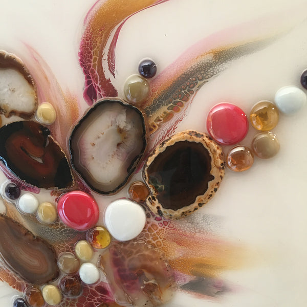 Agate ArtWork Earth Tones