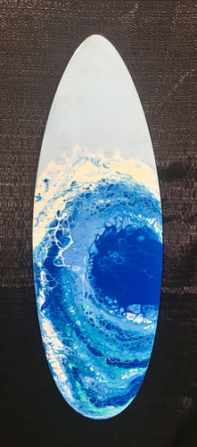 Surfboard Coastal Style Wall Decor