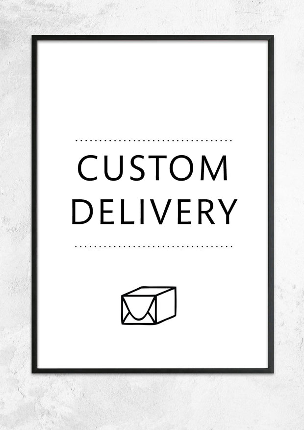 Custom Delivery Charge