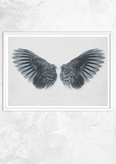 Angel Wings in Blue