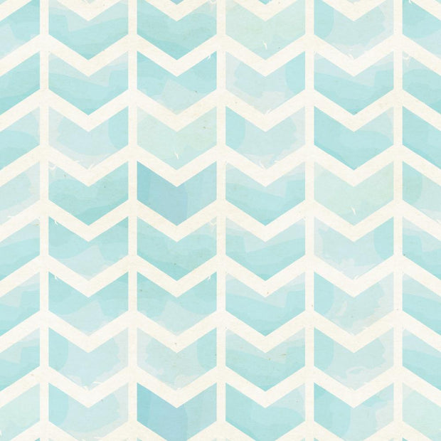 Herringbone in Blue Watercolour