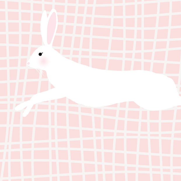 Run Rabbit Run in Pale Pink
