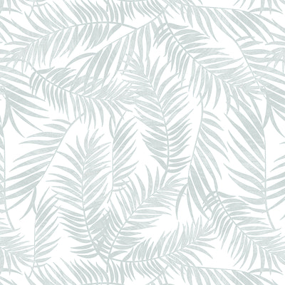 Silver Palm Leaves