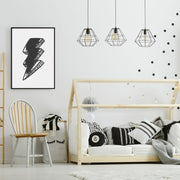 Lightning Bolt in Black