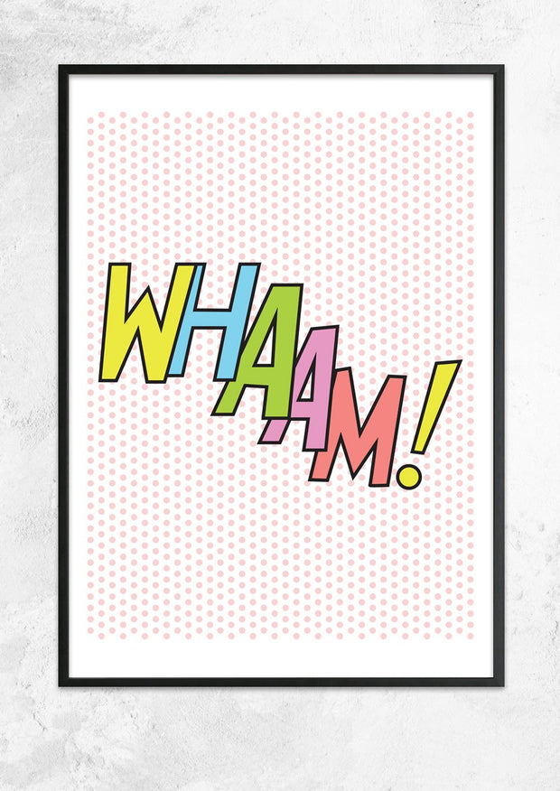 Whaam! Poster