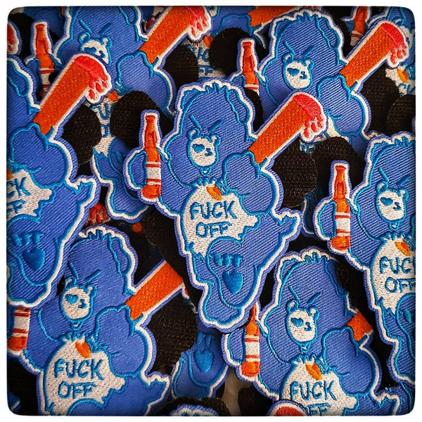 Don't Care Bears Patches