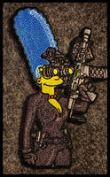 Tactical Marge 'Black Widow' Patch
