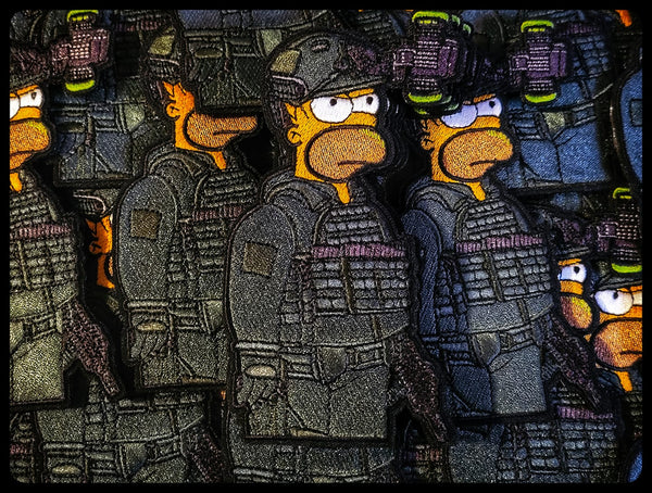 Tactical Homer Patch