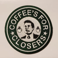 Coffee Is For Closers Patch