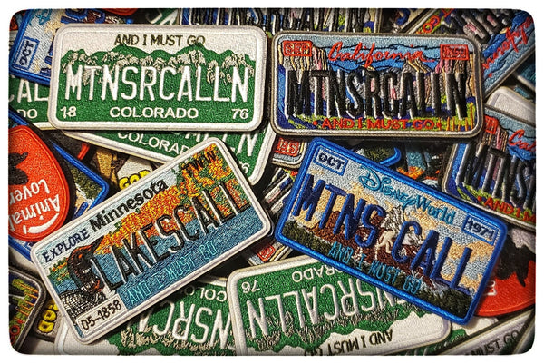 CA, CO, MN PATCHES