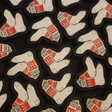 IN N OUT SOCKS PVC PATCH
