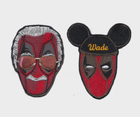 Deadpool StanPool/DeadLee and Disney Wade Patches