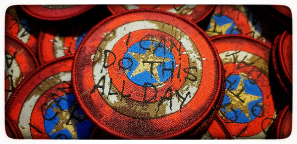 Captain America Shield I Can Do This All Day Patch