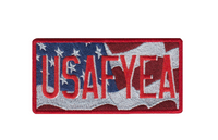 USAFYEA License Plate Patch
