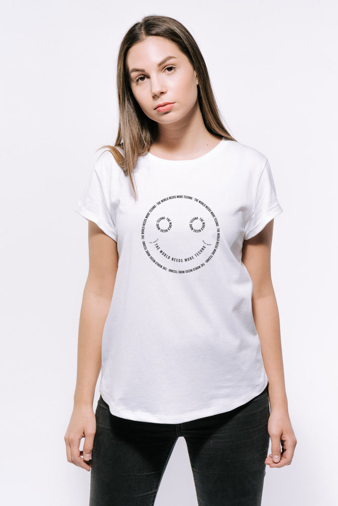 Deniz Bul - Techno Smiley T-Shirt Women