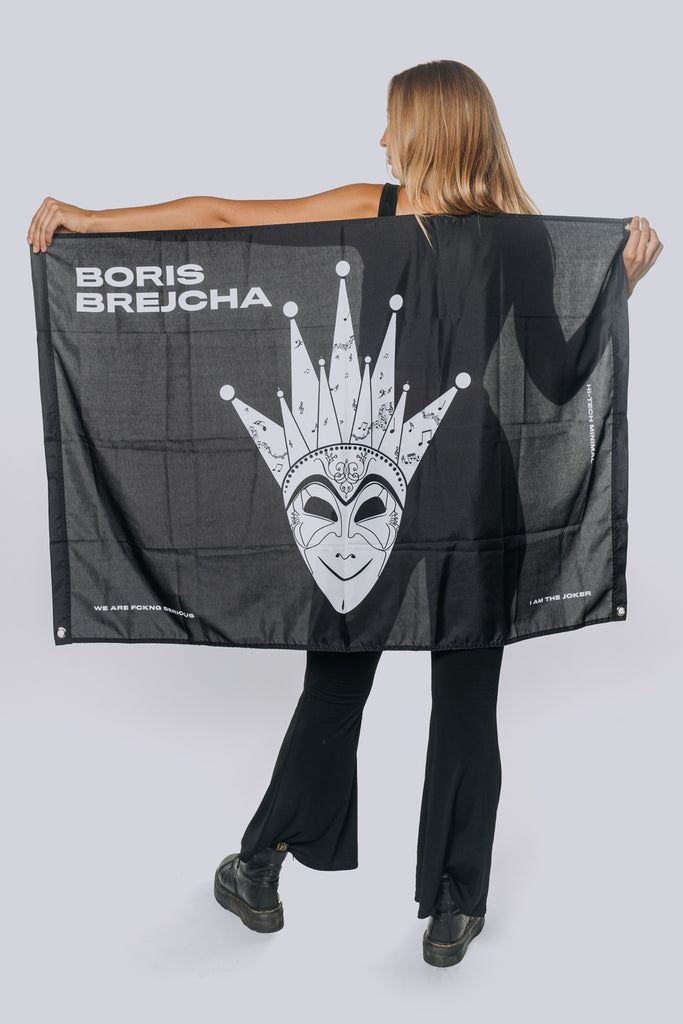 Boris Brejcha - I am the Joker Flag