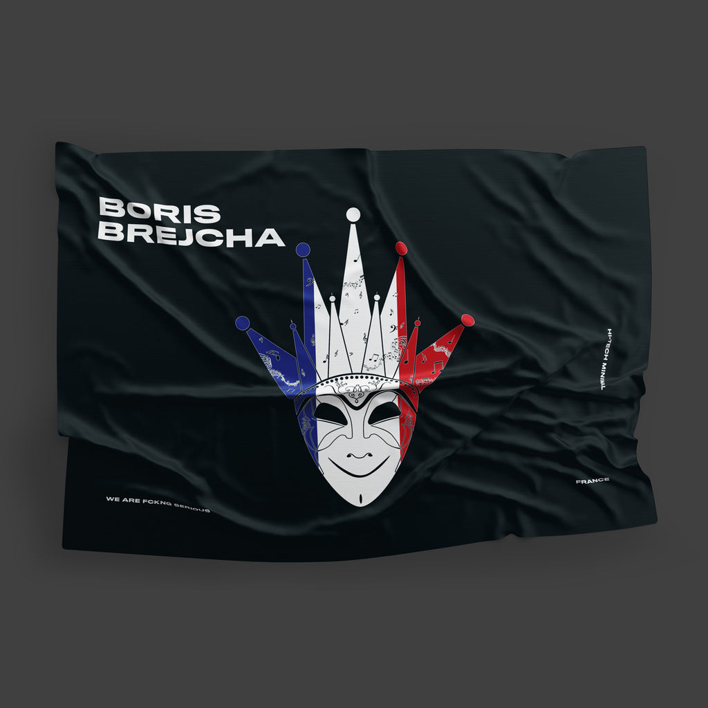 Boris Brejcha - France Flag