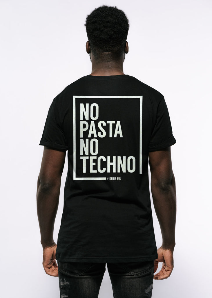 Deniz Bul - No Pasta, No Techno T-Shirt Men