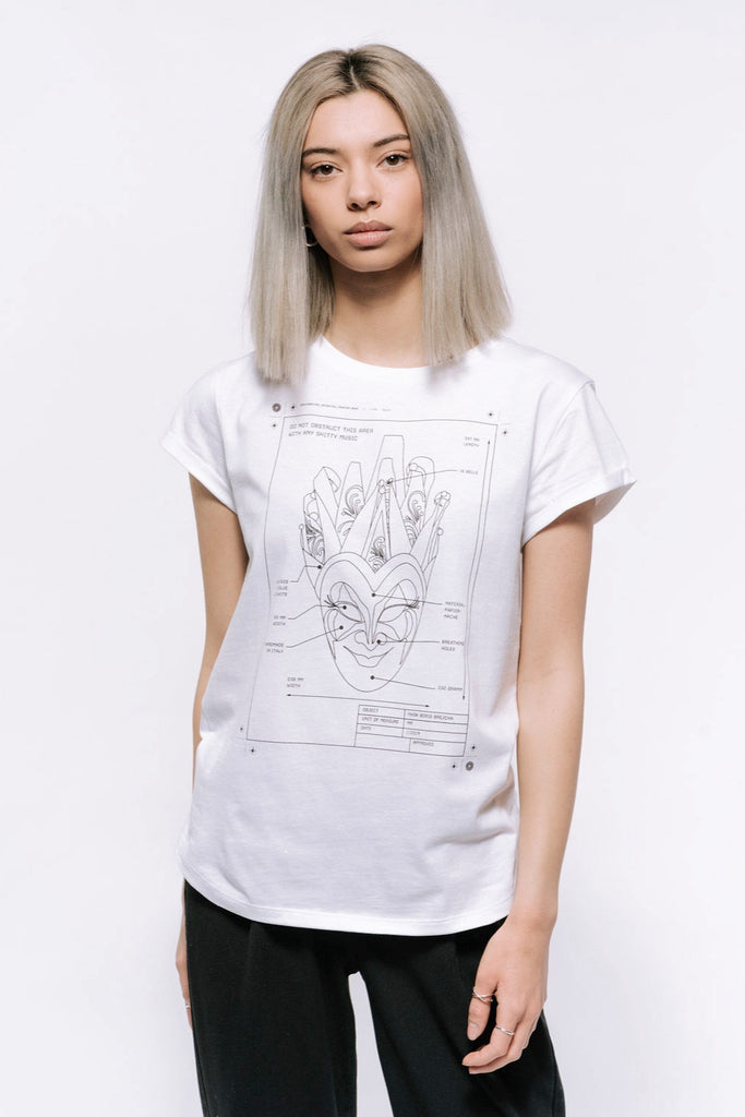 Boris Brejcha - Technical Mask T-Shirt Women