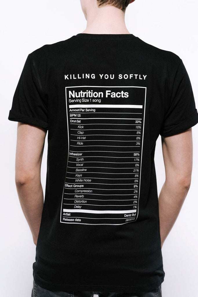 Deniz Bul - Nutrition Facts T-Shirt Men