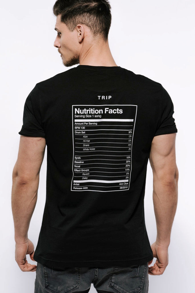 Ann Clue - Nutrition Facts T-Shirt Men